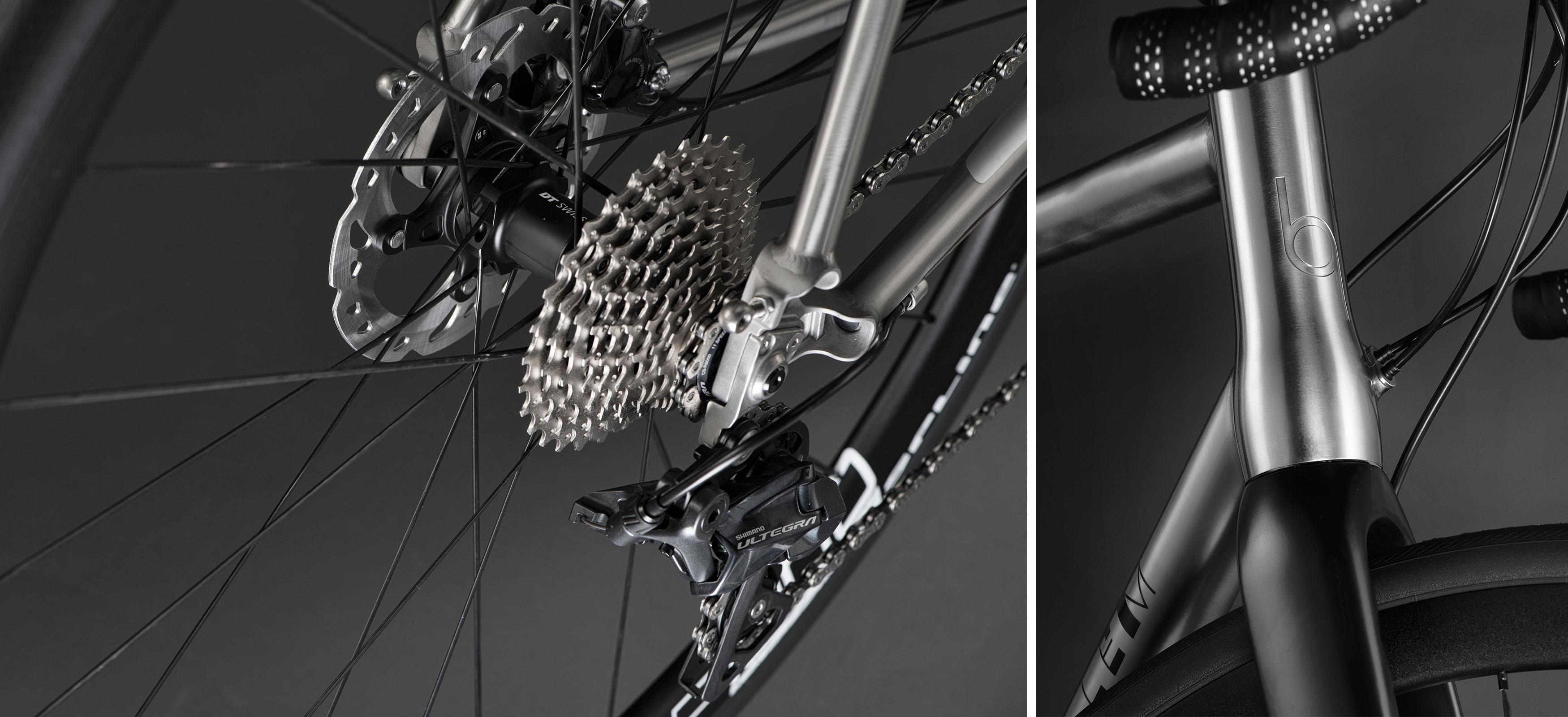 J.Guillem Titanium Bikes - Orient