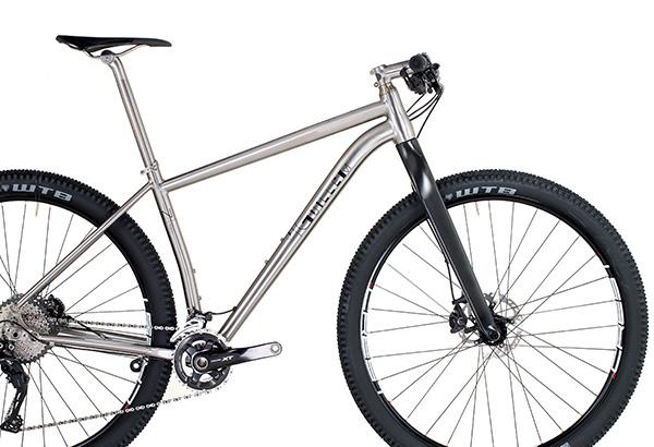 Our titanium bicycles - J Guillem Titanium Bicycles